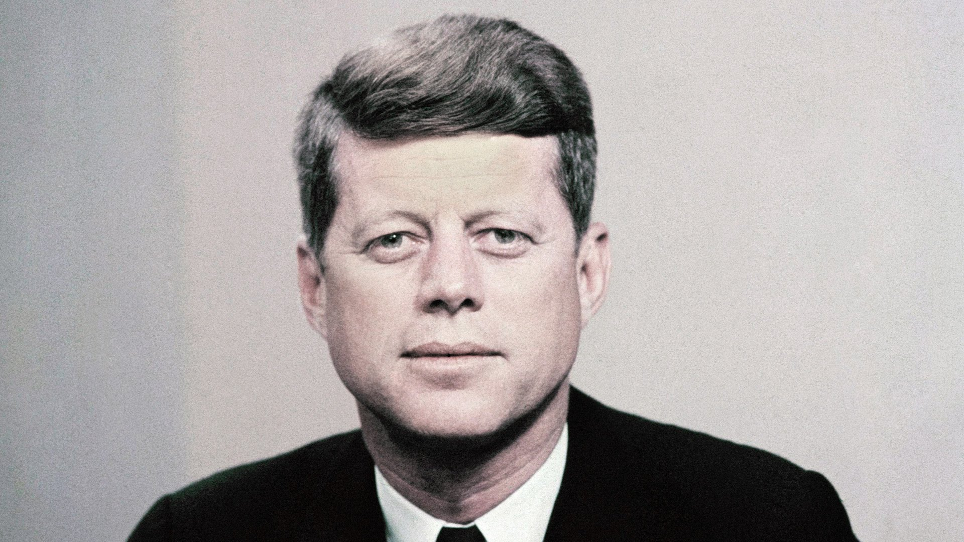 Are not President john f kennedy speaking, would