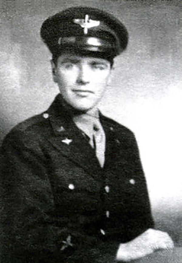 U.S. Army Air Forces pilot 1st Lt. Allen R. Turner